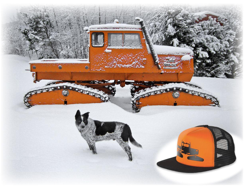 Tucker 442a Sno Cat_my Moose_New Hat Wheels Gone By