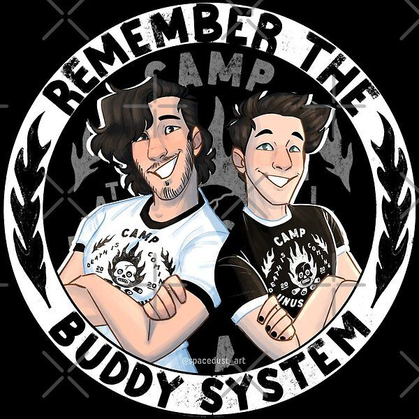 Remember the buddy system! - camp unus annus by Sp