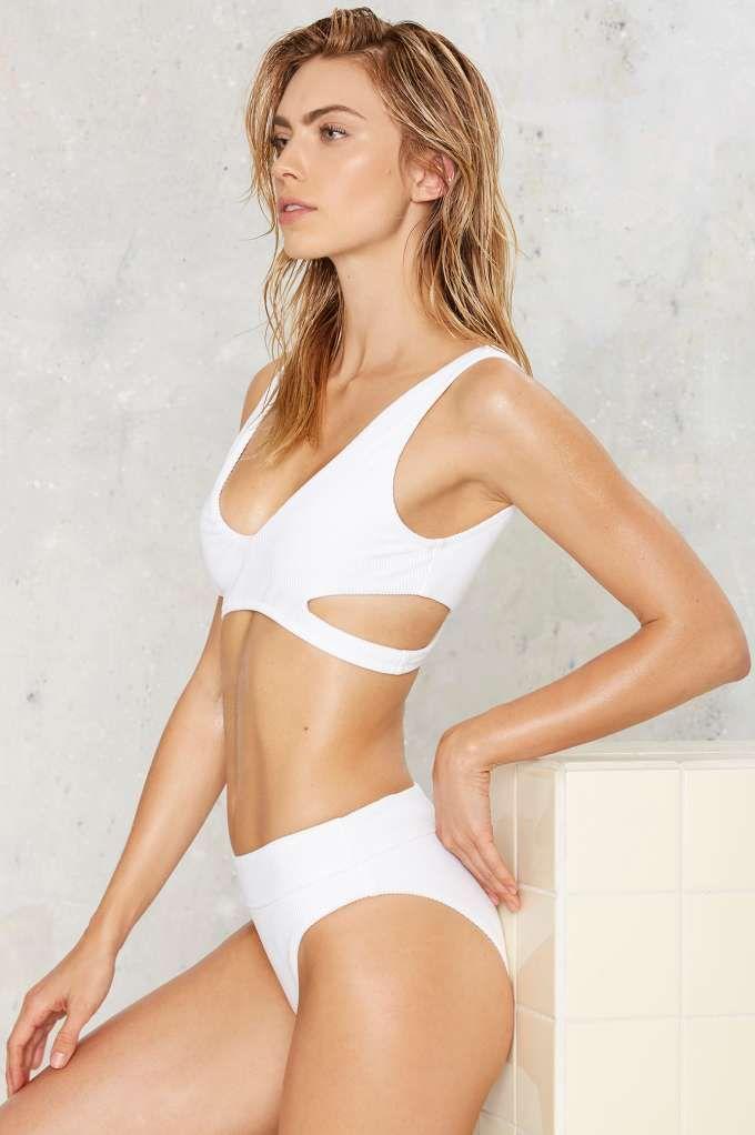 e15e0bd17453d nasty gal. alina mix + match high-waisted bikini set.  fashion ...