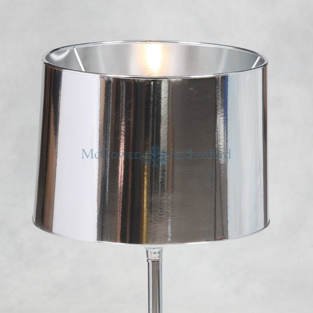Metallic silver 14 lamp shade home is where my heart is metallic silver lamp shade ring for fitting adapter for fitting can be supplied on request aloadofball Gallery