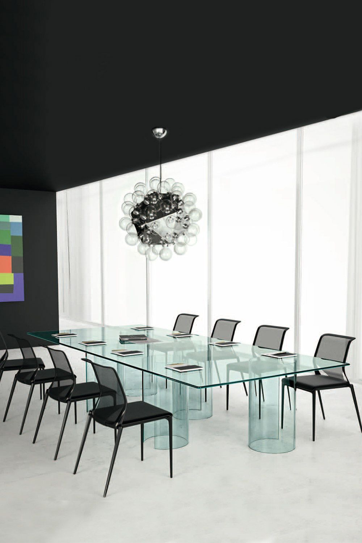 Luxor Conference Table Designed By Rodolfo Dordoni For Fiam Italia