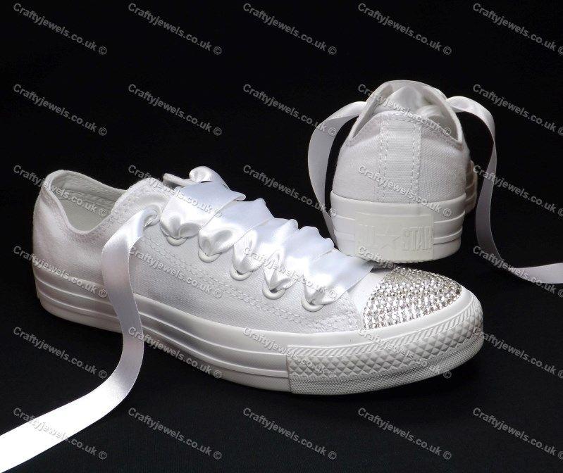 Converse Swarovski White