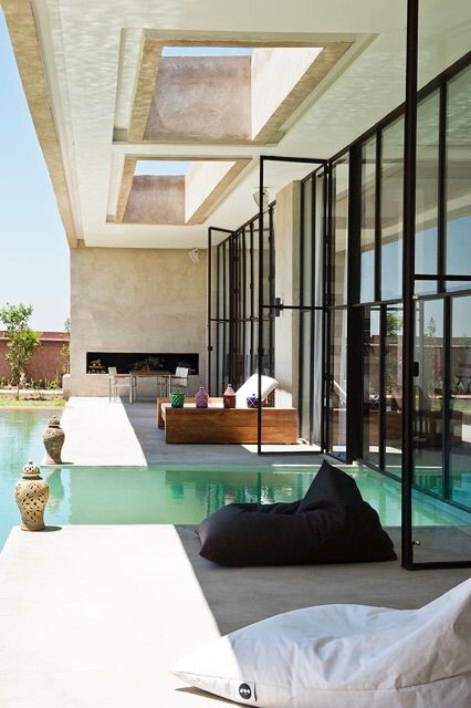une superbe villa marrakech luxe vacances villas de. Black Bedroom Furniture Sets. Home Design Ideas