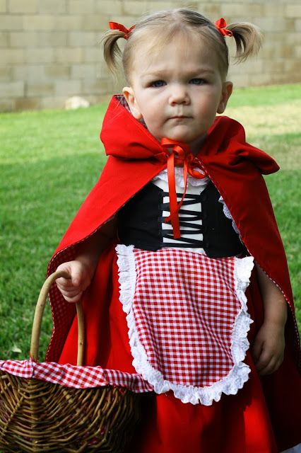3e1d64f3de4 Halloween Costumes, The Little Red Riding Hood. Brother and sister ...