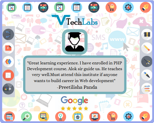 Check It Out This Review From One Of The Satisfied Student Ms Preetilisha Panda Who Has Completed Php Training From Vtechlabs Trai In 2020 Teaching Vadodara Train
