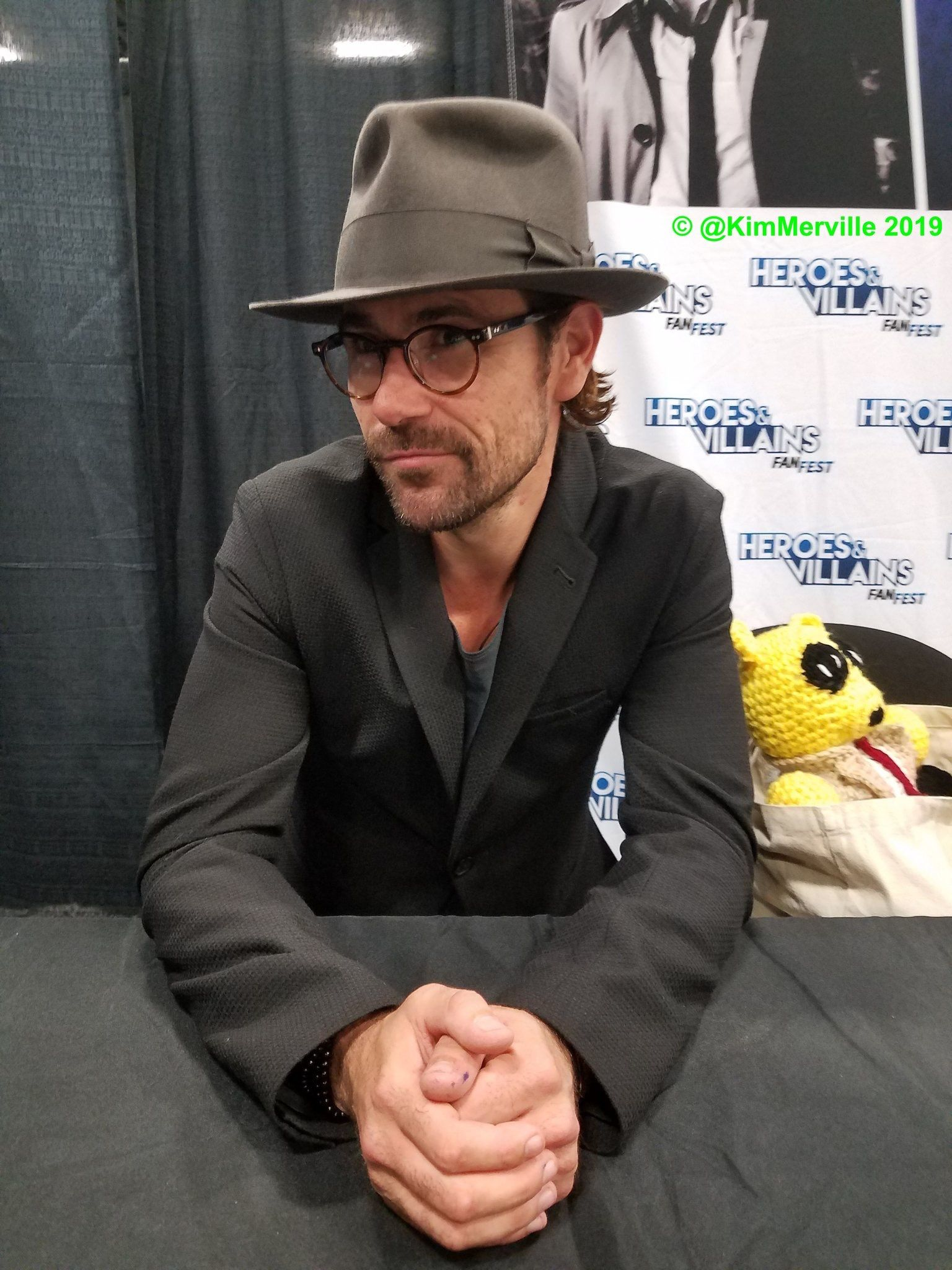 Mattryanreal Aka Constantine Spotted This Weekend Wearing His Bedpoke Fedora From Penmanhats Onlypenman Cool Hats Bespoke Hats Fedora
