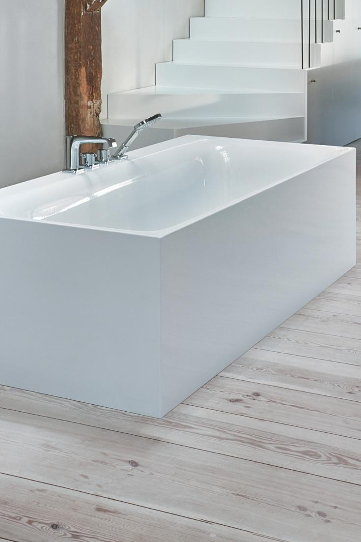 Bette Lux Iv Silhouette Side 170x85cm Freistehende Badewanne 3460cervs Bathtub Bathroom Silhouette