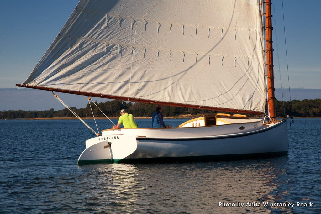 Conjurer, 104YearOld Restored Crosby Cat, Sails Again