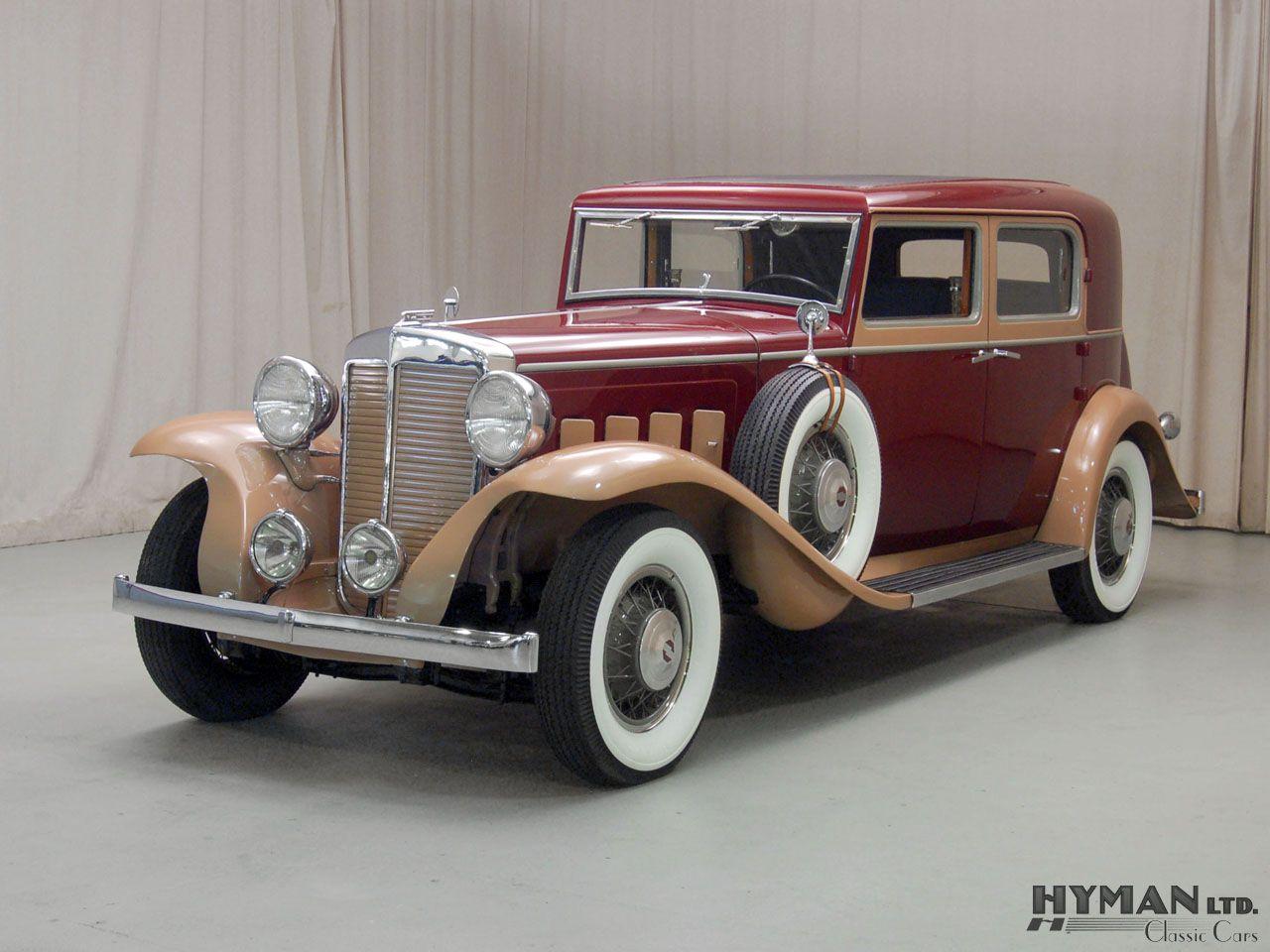Marmon Sixteen Le Baron Sedan 1931 where is my 20\'s zoot suit when I ...