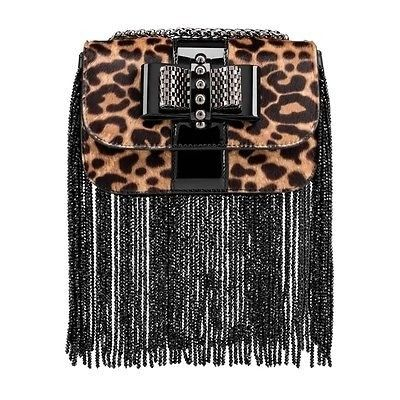 4fa34bd9748 Christian Louboutin Sweety Charity Fringes Printed Pony Shoulder Bag . Get  one of the hottest styles of the season! The Christian Louboutin Sweety  Charity ...