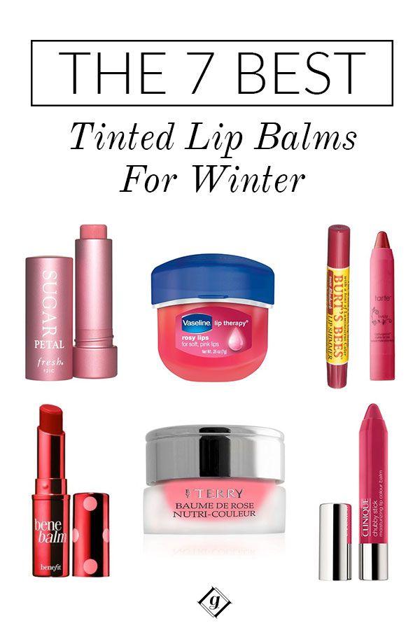 The Best Tinted Lip Balms For Winter Best Lip Balm Lip Balm
