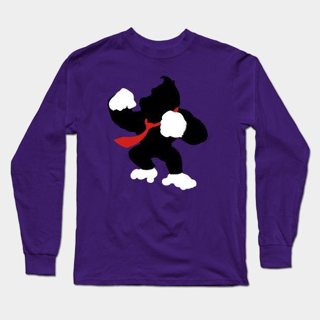 Nintendo Forever - Donkey Kong Long Sleeve T-Shirt