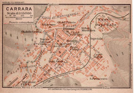 1916 Carrara Italy, City Map, Antique Map, Vintage ... on comacchio italy map, punta ala italy map, pienza italy map, narni italy map, road distances italy map, capannori italy map, tresana italy map, chianti italy map, codroipo italy map, pianosa italy map, cinque terre italy map, lavagna italy map, bogliasco italy map, florence italy map, coastal italy map, simple italy map, noce italy map, porto venere italy map, arezzo italy map, conegliano italy map,