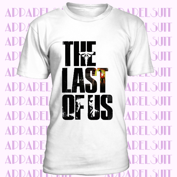 The Last Of Us White T Shirt Game Top Design Mens And Kids Sizes Tops Designs Shirts T Shirt
