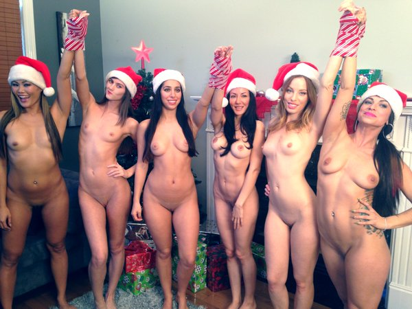 Christmas naked news special