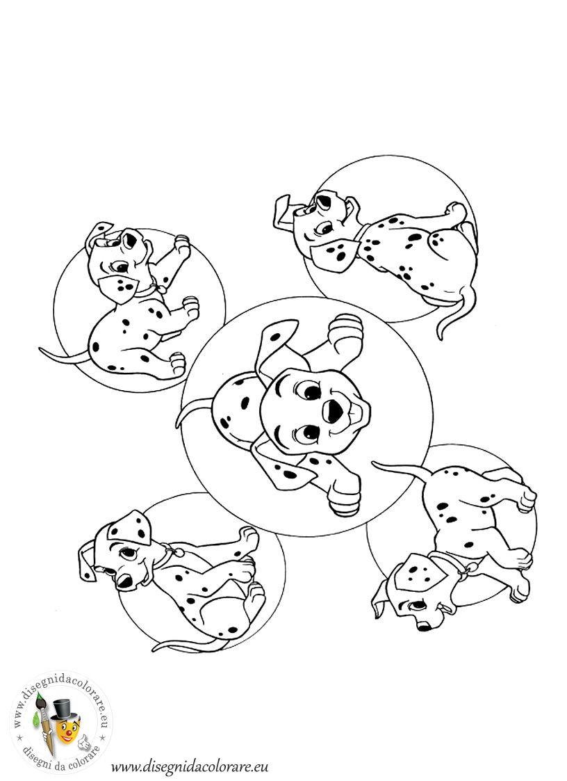 101 Dalmata 41 Jpg Disegni Da Colorare Dei Cartoni Animati