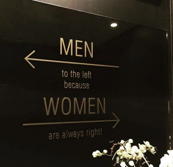 Bathroom Signs Commercial funny bathroom signs from around the world | restaurants