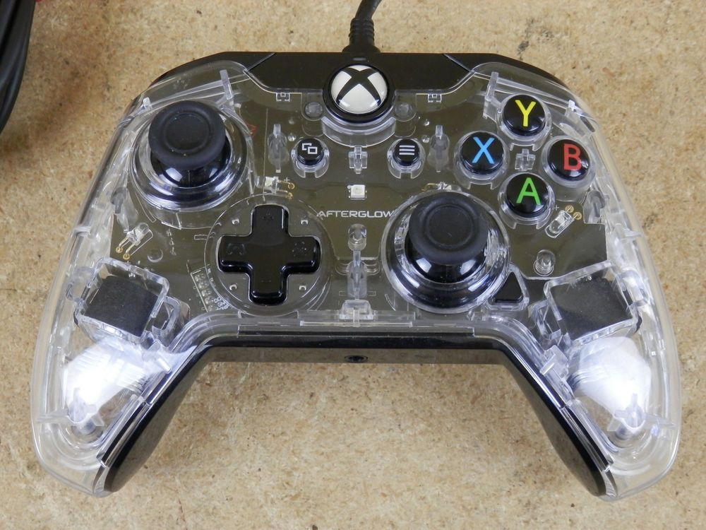 Afterglow Prismatic Wired Controller For Microsoft Xbox One Clear