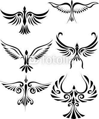 400 F 24927934 Sirpeo7zk7nwzo8rbdepgmc4lmko78mq Thumb Jpg 331 399 Pixels Tribal Bird Tattoos Tribal Tattoos Silhouette Tattoos