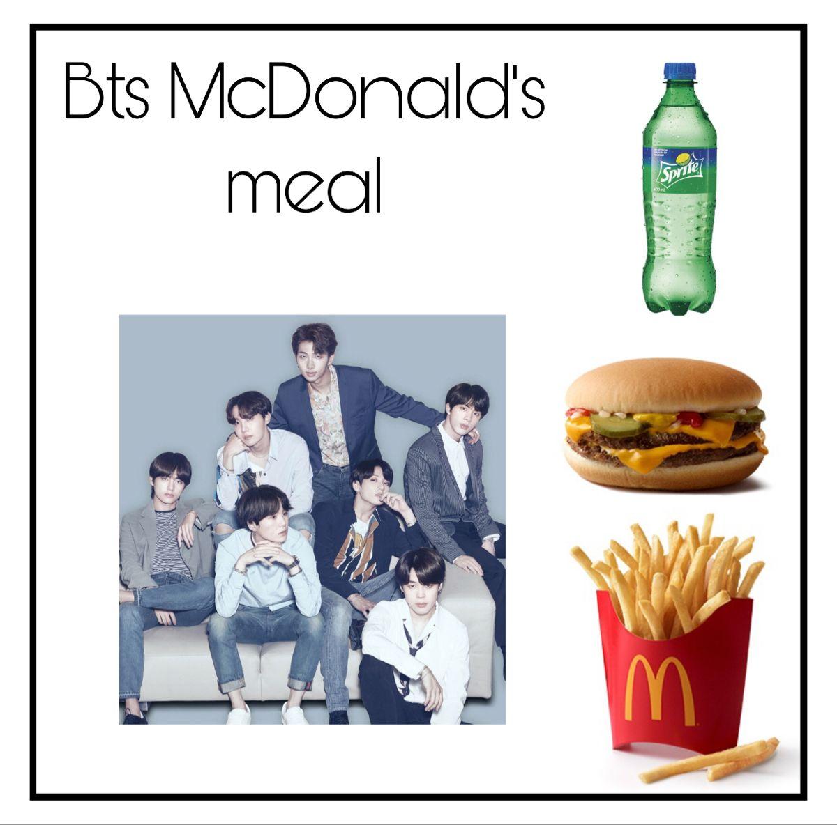 Bts Mcdonald S Menu Kpop Mcdonalds Movie Posters Bts mcdonald's meal wallpaper