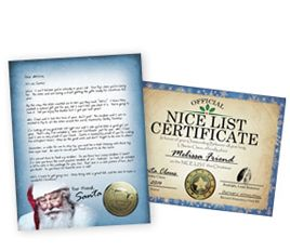 Letters From Santa Claus North Pole Address Personalized Letters
