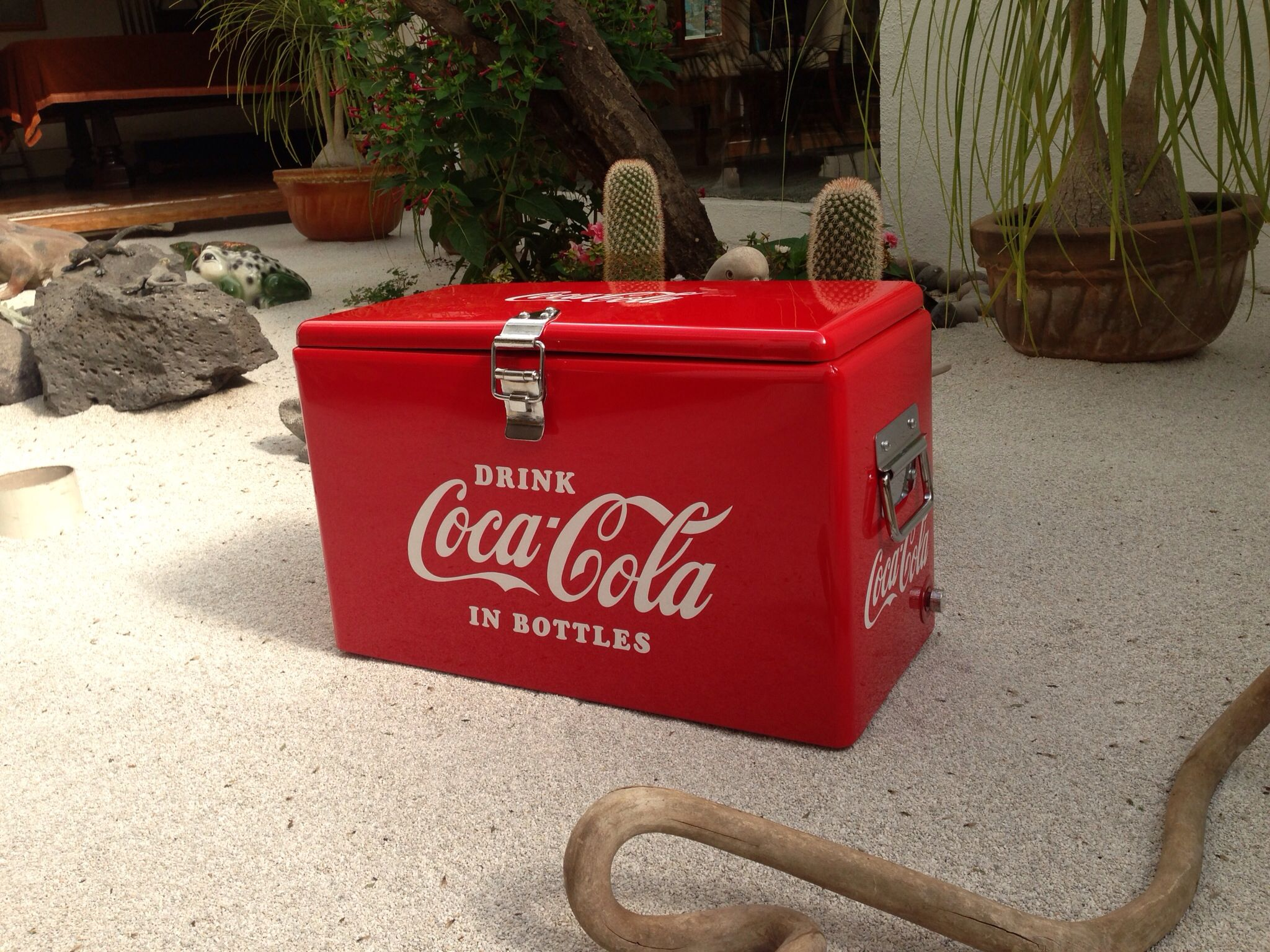 Venta Hielera Vintage Coke Machinecoca