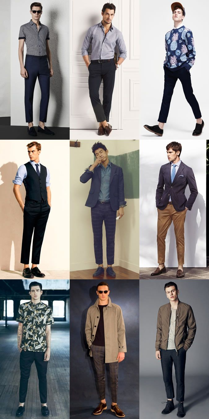 130d6587d9 Contemporary Men s Trouser Lengths  The Cropped Trouser Lookbook Inspiration