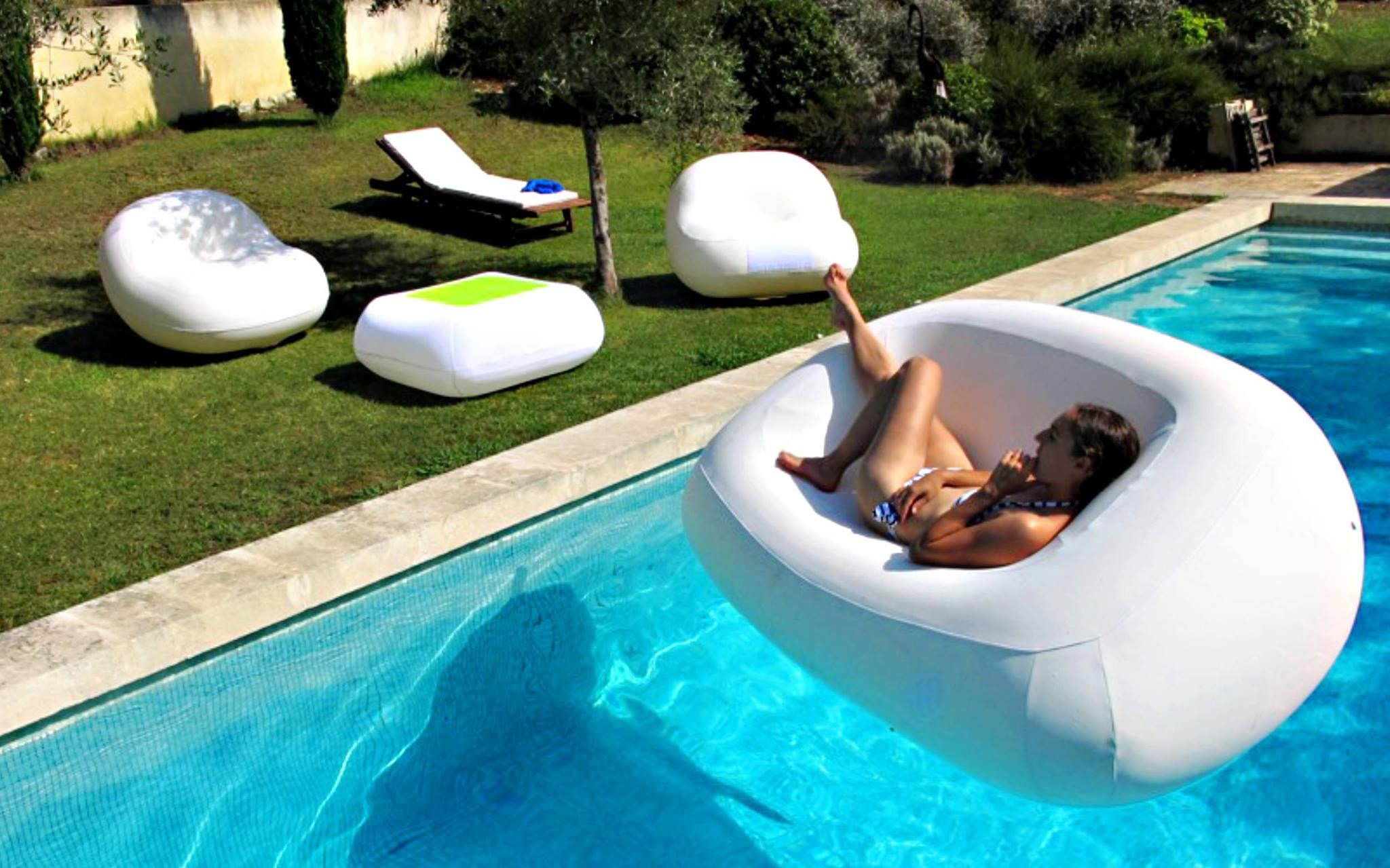 inflatable pool furniture. Stylish Pool Furniture By Ludo - Great For The Pool. Sofa Is Called Fugu Inflatable L