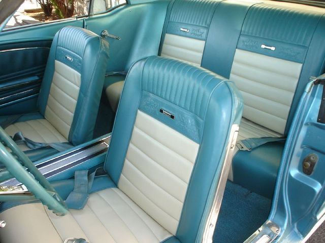 1966 ford mustang blue interior  Google Search  Dream Car
