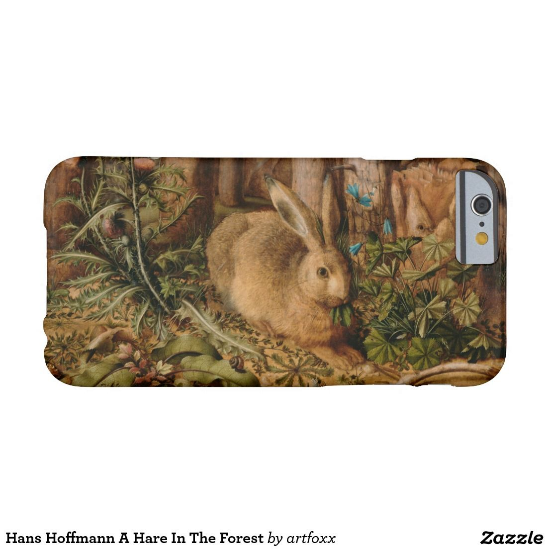 Hans Hoffmann A Hare In The Forest Barely There iPhone 6 Case