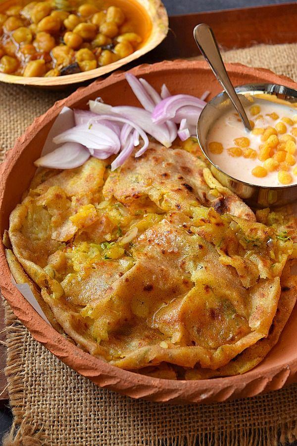 Naan Recipe (Aloo Pyaz  Dhaba Style)