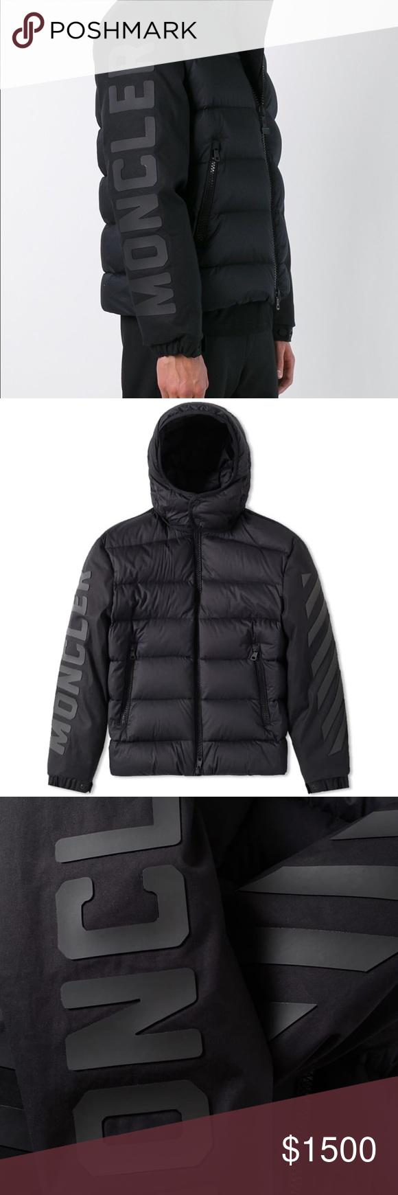 Moncler X Off White Enclos XXL Men's COAT No Hood RARE