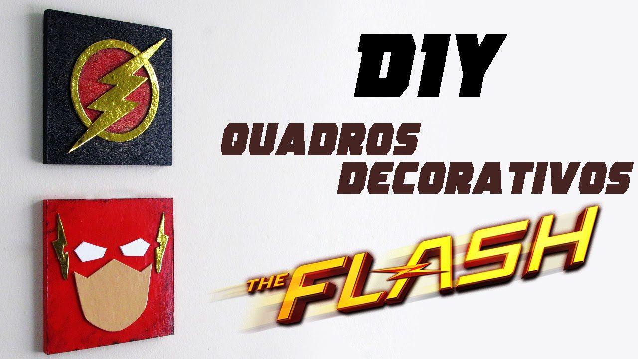 Diy Quadros Decorativos The Flash Stuff For Kids Diy Room