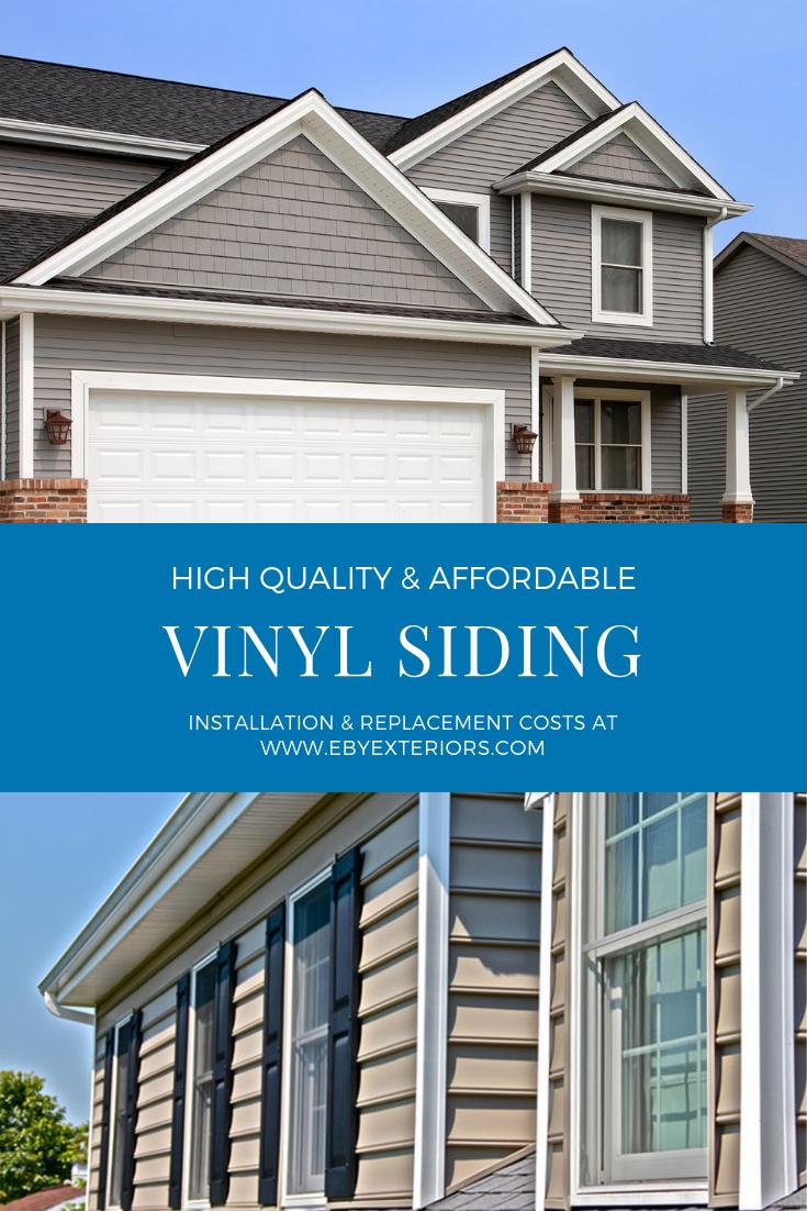 Vinyl Siding Installation Cost To Install Replace Vinyl Siding Vinyl Siding Vinyl Siding Installation Siding Cost