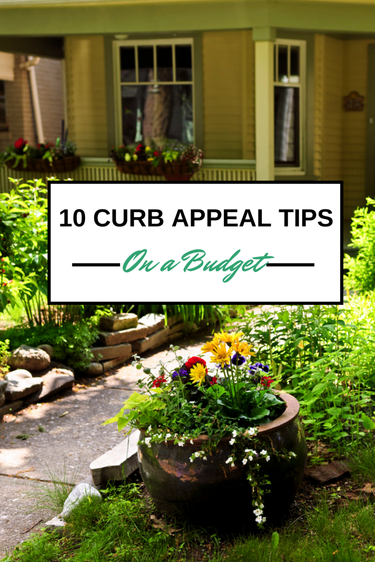 curb appeal tips budget