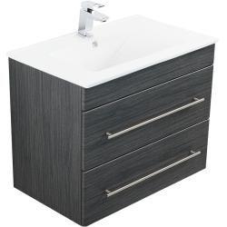 Photo of Bathroom furniture Casa Infinity 750 textured anthraciteEmotion-24