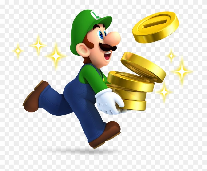 Download Hd Luigi Clipart Coin New Super Mario Brothers 2 Nintendo 3ds Png Download And Use The Free Clip Mario Brothers Super Mario Brothers Super Mario