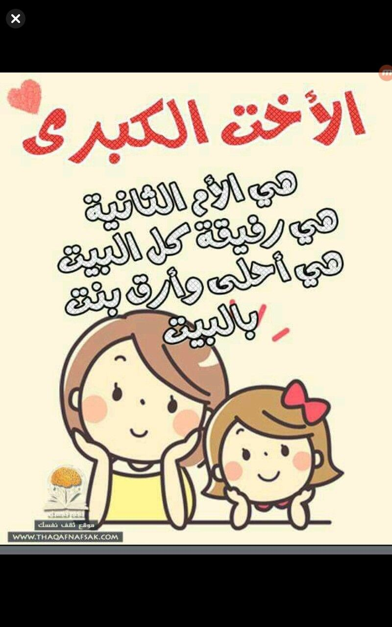 Pin By خديجة العيسى On اختي حبيبتي Love My Sister Anime Family Sister Pictures