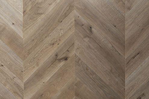 London oak in a chevron pattern, parquet flooring from www.element7.co.uk