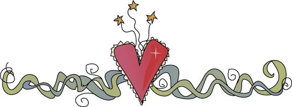 Country Heart Clipart Border #clipart #patterns