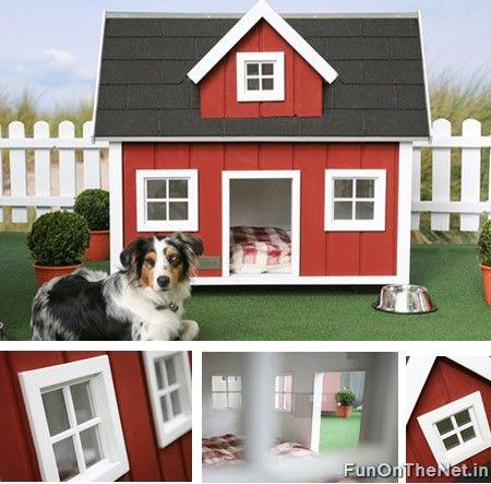 10 Ultra Stylh Dog Houses Dog Mansion Dog House Plans