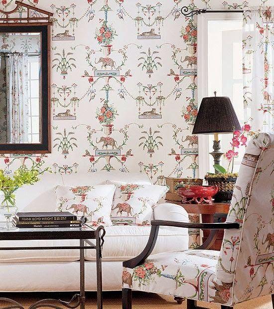 spelndid popular wallpaper designs. Eye For Design  Matching Upholstery and Wallpaper Lovely Interiors When Done Correctly Splendid Sass PINTEREST FAVORITES Pinterest