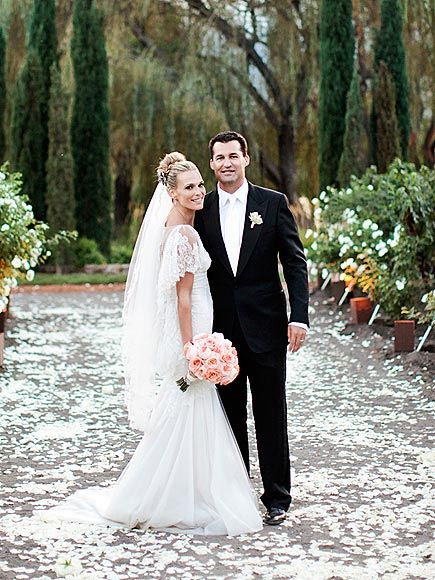 Molly Sims wedding