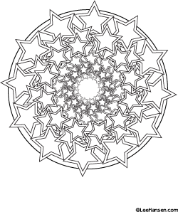 Mandala Coloring Pages And Books Star Coloring Pages Mandala Coloring Pages Geometric Coloring Pages