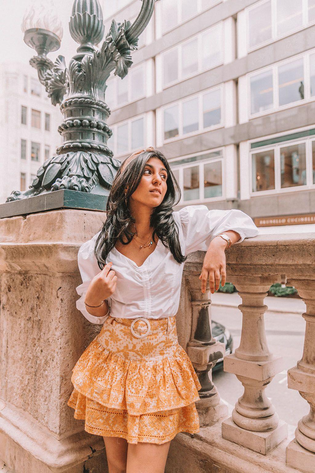 8a93ce9ae Luxury fashion blogger Shloka Narang of The Silk Sneaker shares how to  create a cute and