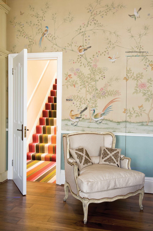 Installations Chinoiserie Handmade Wallpaper Fromental