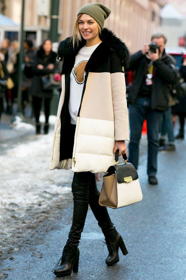 Неразлучная пара: 12 моделей сумок, которые будут хорошо смотреться с пуховиком в 2019 году