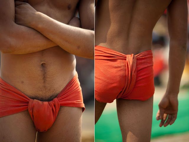 Traditional Indian Underwear still worn today and also worn in traditional  Kushti wrestling