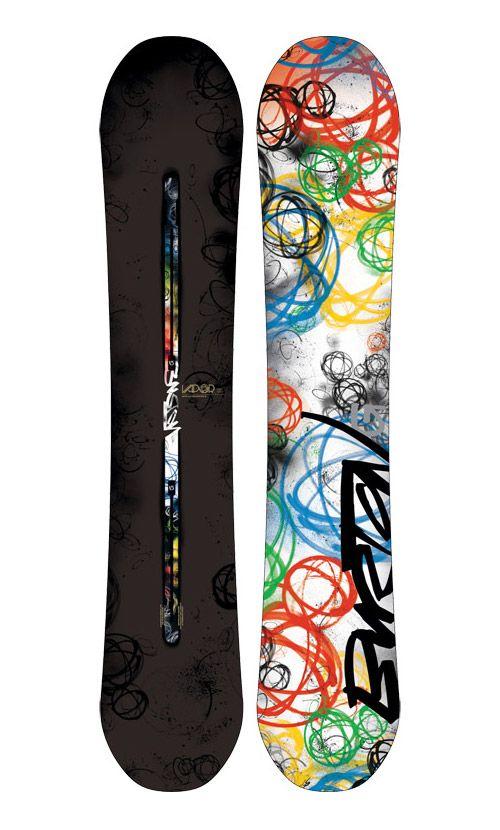 296b557fa678 Futura x Burton Vapor Snowboard