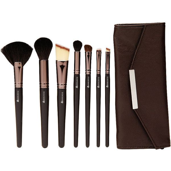 Borghese Professional Select Brush Kit, 8 Piece 1 set ($29) ❤ liked on Polyvore featuring beauty products, makeup, makeup tools, makeup brushes, beauty, brushes, fillers, brush bag, foundation brush и taper kit
